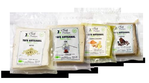 tofu bio artisanal Le Chat des Champs
